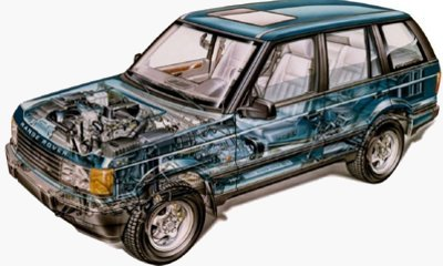 Range Rover Cut Away